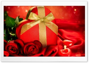 Valentines Day Gifts HD Wide Wallpaper for Widescreen