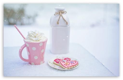 Valentine's Day Hot Chocolate and Heart Sugar Cookies ❤ 4K UHD Wallpaper for Wide 16:10 5:3 Widescreen WHXGA WQXGA WUXGA WXGA WGA ; UltraWide 21:9 24:10 ; 4K UHD 16:9 Ultra High Definition 2160p 1440p 1080p 900p 720p ; UHD 16:9 2160p 1440p 1080p 900p 720p ; Standard 4:3 5:4 3:2 Fullscreen UXGA XGA SVGA QSXGA SXGA DVGA HVGA HQVGA ( Apple PowerBook G4 iPhone 4 3G 3GS iPod Touch ) ; Tablet 1:1 ; iPad 1/2/Mini ; Mobile 4:3 5:3 3:2 16:9 5:4 - UXGA XGA SVGA WGA DVGA HVGA HQVGA ( Apple PowerBook G4 iPhone 4 3G 3GS iPod Touch ) 2160p 1440p 1080p 900p 720p QSXGA SXGA ; Dual 4:3 5:4 UXGA XGA SVGA QSXGA SXGA ;