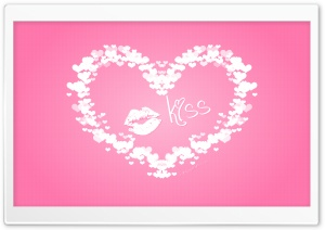 Valentine's Day Kiss HD Wide Wallpaper for Widescreen