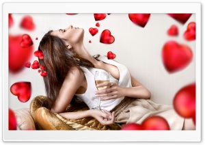 Valentine's Day Love HD Wide Wallpaper for Widescreen