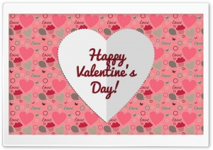 Valentines Day Romantic Holiday HD Wide Wallpaper for Widescreen