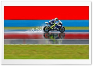 Valentino Rossi HD Wide Wallpaper for Widescreen