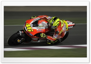 Valentino Rossi   Ducati Bike HD Wide Wallpaper for Widescreen