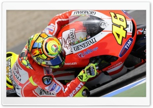 Valentino Rossi   Ducati Bike   MotoGP World Championship HD Wide Wallpaper for Widescreen