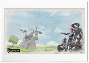 Valkyria Chronicles HD Wide Wallpaper for Widescreen