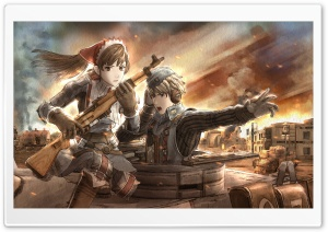Valkyria Chronicles HD Wide Wallpaper for 4K UHD Widescreen desktop & smartphone