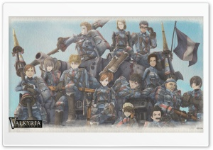 Valkyria Chronicles Game HD Wide Wallpaper for Widescreen