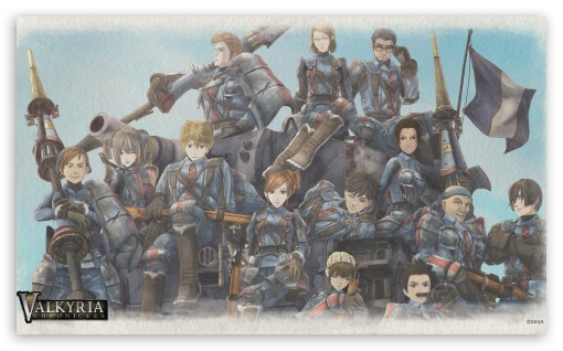 Valkyria Chronicles Game HD wallpaper for Wide 5:3 Widescreen WGA ; HD 16:9 High Definition WQHD QWXGA 1080p 900p 720p QHD nHD ; Mobile 5:3 16:9 - WGA WQHD QWXGA 1080p 900p 720p QHD nHD ;