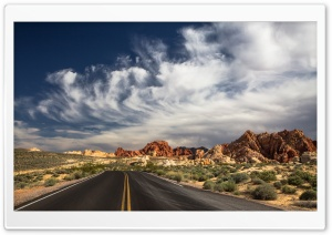 Valley of Fire State Park, Nevada HD Wide Wallpaper for Widescreen