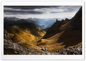 Valley, Pizol Mountain, Glarus Alps, Switzerland Ultra HD Wallpaper for 4K UHD Widescreen desktop, tablet & smartphone