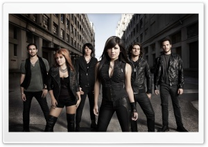 Valora Band HD Wide Wallpaper for Widescreen