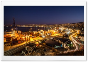 Valparaiso Noche HD HD Wide Wallpaper for Widescreen