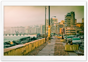 Valparaiso-Via Costera HD Wide Wallpaper for Widescreen