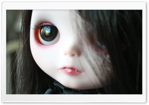 Vampire Doll HD Wide Wallpaper for Widescreen