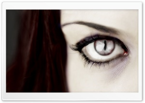 Vampire Eye HD Wide Wallpaper for Widescreen