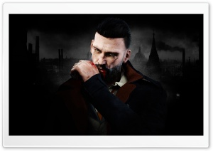 Vampyr (2018 video game) Vampire HD Wide Wallpaper for 4K UHD Widescreen desktop & smartphone