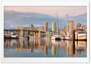 Vancouver Harbour HD Wide Wallpaper for Widescreen