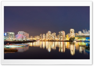 Vancouver Reflections HD Wide Wallpaper for Widescreen