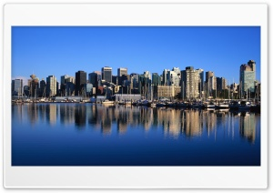 Vancouver Skyline HD Wide Wallpaper for Widescreen