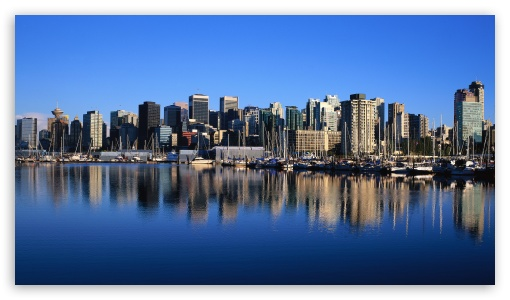 Vancouver Skyline ❤ 4K UHD Wallpaper for 4K UHD 16:9 Ultra High Definition 2160p 1440p 1080p 900p 720p ; Mobile 16:9 - 2160p 1440p 1080p 900p 720p ;