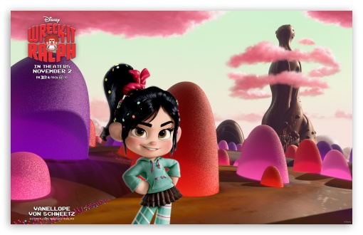 Vanellope von Schweetz Disney ❤ 4K UHD Wallpaper for Wide 16:10 Widescreen WHXGA WQXGA WUXGA WXGA ;