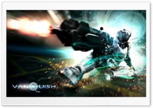 Vanquish Game 2011 HD Wide Wallpaper for Widescreen