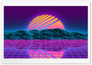 Vaporwave HD Wide Wallpaper for 4K UHD Widescreen desktop & smartphone