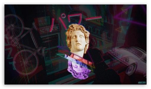 Vaporwave Power Ultra Hd Desktop Background Wallpaper For 4k Uhd