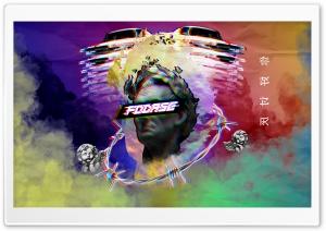 vaporwaveMustang Ultra HD Wallpaper for 4K UHD Widescreen desktop, tablet & smartphone