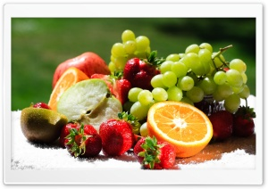 Various Fruits HD Wide Wallpaper for Widescreen