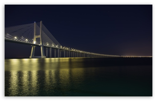 Vasco Da Gama Bridge at Night ❤ 4K UHD Wallpaper for Wide 16:10 5:3 Widescreen WHXGA WQXGA WUXGA WXGA WGA ; UltraWide 21:9 24:10 ; 4K UHD 16:9 Ultra High Definition 2160p 1440p 1080p 900p 720p ; UHD 16:9 2160p 1440p 1080p 900p 720p ; Standard 4:3 5:4 3:2 Fullscreen UXGA XGA SVGA QSXGA SXGA DVGA HVGA HQVGA ( Apple PowerBook G4 iPhone 4 3G 3GS iPod Touch ) ; Smartphone 16:9 3:2 5:3 2160p 1440p 1080p 900p 720p DVGA HVGA HQVGA ( Apple PowerBook G4 iPhone 4 3G 3GS iPod Touch ) WGA ; Tablet 1:1 ; iPad 1/2/Mini ; Mobile 4:3 5:3 3:2 16:9 5:4 - UXGA XGA SVGA WGA DVGA HVGA HQVGA ( Apple PowerBook G4 iPhone 4 3G 3GS iPod Touch ) 2160p 1440p 1080p 900p 720p QSXGA SXGA ; Dual 16:10 5:3 16:9 4:3 5:4 3:2 WHXGA WQXGA WUXGA WXGA WGA 2160p 1440p 1080p 900p 720p UXGA XGA SVGA QSXGA SXGA DVGA HVGA HQVGA ( Apple PowerBook G4 iPhone 4 3G 3GS iPod Touch ) ;