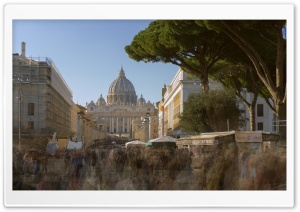 Vatican Christmas Ultra HD Wallpaper for 4K UHD Widescreen desktop, tablet & smartphone