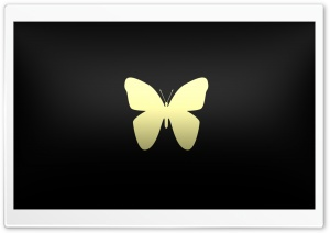 Vector Butterfly on shades HD Wide Wallpaper for 4K UHD Widescreen desktop & smartphone