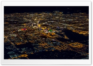 Vegas Flyby HD Wide Wallpaper for Widescreen