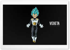 Vegeta HD Wide Wallpaper for Widescreen
