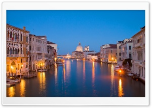 Venice At Night HD Wide Wallpaper for Widescreen