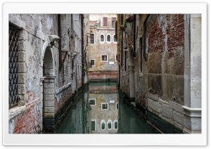 Venice Reflection HD Wide Wallpaper for Widescreen