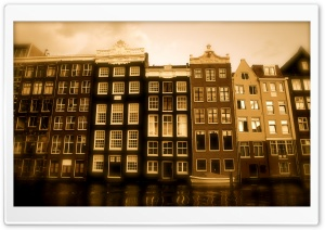 Venice Sepia HD Wide Wallpaper for Widescreen