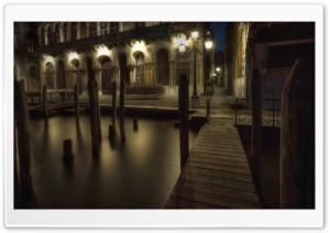 Venice Streets HD Wide Wallpaper for Widescreen
