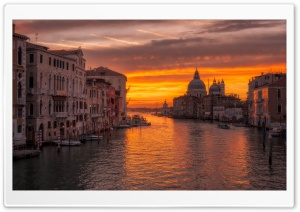 Venice Sunrise HD Wide Wallpaper for 4K UHD Widescreen desktop & smartphone