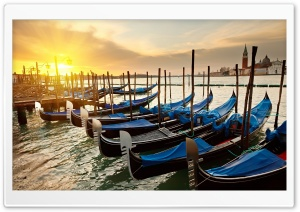 Venice Sunset HD Wide Wallpaper for Widescreen