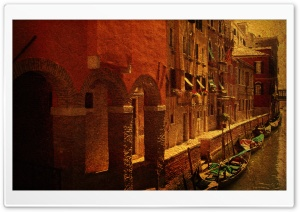 Venice Vintage Photography HD Wide Wallpaper for Widescreen