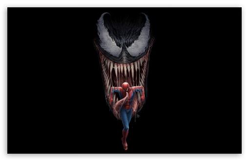Venom Spider Man Movie Artwork Comics Ultra Hd Desktop Background Wallpaper For 4k Uhd Tv Widescreen Ultrawide Desktop Laptop Tablet Smartphone