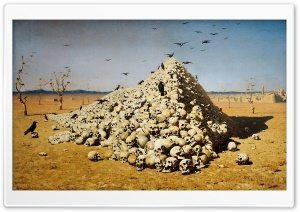 Vereshchagin Painting HD Wide Wallpaper for Widescreen