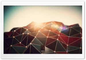Vertex HD Wide Wallpaper for Widescreen