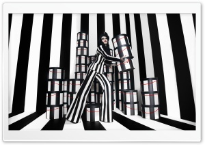 Vertical Stripes Fashion Trend Women HD Wide Wallpaper for 4K UHD Widescreen desktop & smartphone