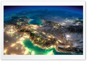 Very Nice Satellite Images Of Iran Ultra HD Wallpaper for 4K UHD Widescreen desktop, tablet & smartphone