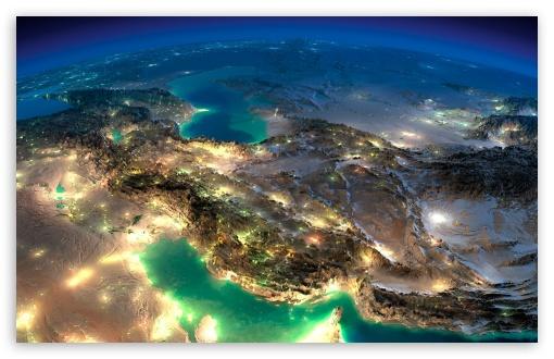 Download Very Nice Satellite Images Of Iran UltraHD Wallpaper