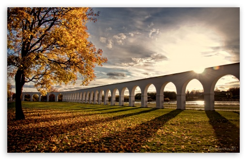Viaduct, Autumn HD wallpaper for Wide 16:10 5:3 Widescreen WHXGA WQXGA WUXGA WXGA WGA ; HD 16:9 High Definition WQHD QWXGA 1080p 900p 720p QHD nHD ; UHD 16:9 WQHD QWXGA 1080p 900p 720p QHD nHD ; Standard 4:3 5:4 3:2 Fullscreen UXGA XGA SVGA QSXGA SXGA DVGA HVGA HQVGA devices ( Apple PowerBook G4 iPhone 4 3G 3GS iPod Touch ) ; iPad 1/2/Mini ; Mobile 4:3 5:3 3:2 16:9 5:4 - UXGA XGA SVGA WGA DVGA HVGA HQVGA devices ( Apple PowerBook G4 iPhone 4 3G 3GS iPod Touch ) WQHD QWXGA 1080p 900p 720p QHD nHD QSXGA SXGA ; Dual 4:3 5:4 UXGA XGA SVGA QSXGA SXGA ;