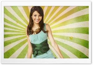 Victoria Justice HD Wide Wallpaper for Widescreen